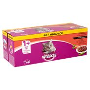 Whiskas Classic Selectie in Saus 1+ Jaar Economy Pack 40 x 100 g