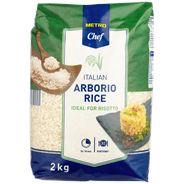 Metro Chef Arborio rijst 2 kg