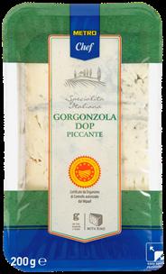 Metro Chef Gorgonzola piccante met korst 200 gram
