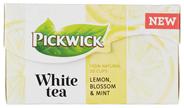 Pickwick White Tea Lemon, Blossom & Mint 20 Stuks