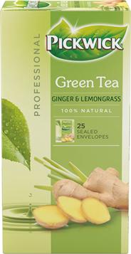 Pickwick Green Tea Ginger & Lemongrass 3 x 25 x 1,5 gram