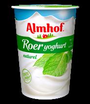 Almhof Roeryoghurt naturel 500 gram