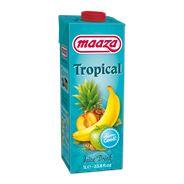 MAAZA JUICE DRINK TROPICAL 1 L PAK MET PUNT
