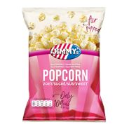 Jimmy's Popcorn tub zoet 6 x 140 gram