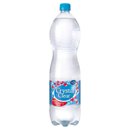 Crystal Clear Sparkling cranberry PET 6 x 1,5 liter