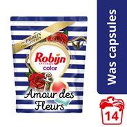 Robijn  Wascapsules Color Amour des Fleur 14 wasbeurten