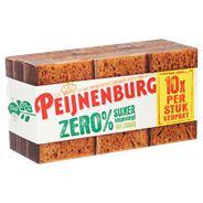 Peijnenburg Ontbijtkoek Zero Portieverpakking 10 Repen