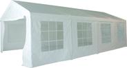 Metro Professional Paviljoen 4 x 8 meter + 4 zijwanden wit