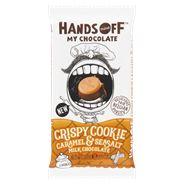 Hands Off My Chocolate Crispy Cookie Caramel & Sea Salt Milk Chocolate 100 g