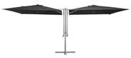 Metro Professional Parasol batiki 2 x 2,5 x 2,5 meter antraciet