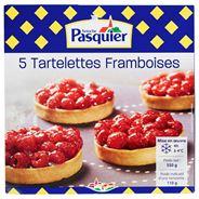 Brioche Pasquier Tartelette framboise 5 stuks