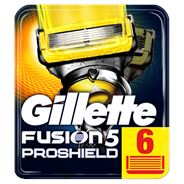 Gillette Fusion5 ProShield Scheermesjes, 6 Navulmesjes