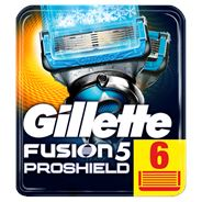 Gillette Fusion5 ProShield Chill Scheermesjes, 6 Navulmesjes