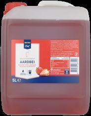 Metro Chef Vruchtensiroop Aardbei 5 liter