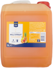 Metro Chef Vruchtensiroop Multivruchten 5 liter