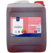 Metro Chef Vruchtensiroop Framboos suikervrij 5 liter