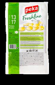 Peka Freshline Aardappelgratin 6 x 2kg