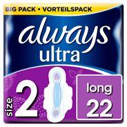 Always Ultra Long (Maat 2) Maandverband Vleugels x24