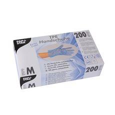 Papstar Handschoenen TPE poedervrij blauw M 100 stuks