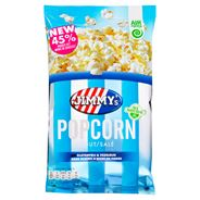 Jimmy's All Natural Popcorn Zout 100 g