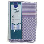Metro Professional Chef handdoek 10 stuks blauw