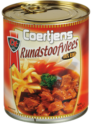 Coertjens Rundstoofvlees 850 gram