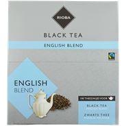 Rioba Zwarte Thee English Blend zonder envelop 100 x 4 gram