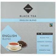 Rioba Zwarte Thee English Blend (met envelop) 100 x 2 gram