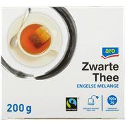 Aro Zwarte thee Engele melange zonder envelop 100 x 2 gram
