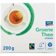 Aro Groen thee citroen zonder envelop 100 x 2 gram