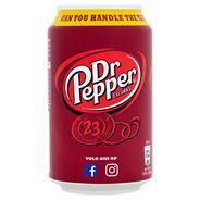 Dr Pepper 24 x 0,33 Liter