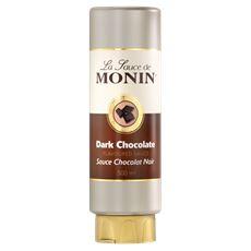 Monin Topping Dark chocolate 500 ml