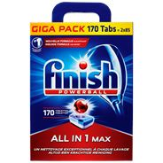 Finish Powerball Super Charged All in 1 Max Giga Pack 170 Tabs
