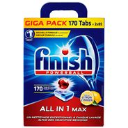 Finish Powerball All in 1 Max Citroen 170 Tabletten
