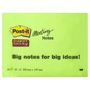 Post-it Meeting notes 149 x 200 mm 4 x 45 blaadjes