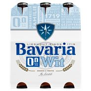 Bavaria 0.0% Wit Flessen 6 x 30 cl