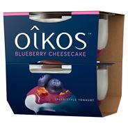 Danone Oikos Bosbes cheesecake 2 x 115 gram