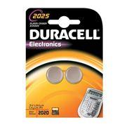 Duracell Specialty 2025 Lithium knoopcelbatterij, verpakking van 2