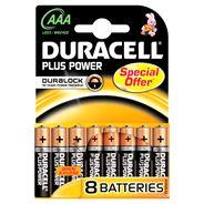Duracell Plus Power AAA 8 stuks