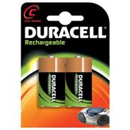 Duracell Recharge Ultra C-batterijen, verpakking van 2