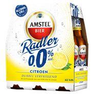 Amstel Radler 0.0 Bier Citroen Fles 24 x 30 cl
