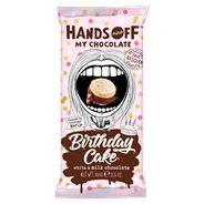 Hands Off My Chocolate Birthday Cake White & Milk Chocolate 100 g