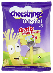 Cheestrings Original 8 stuks 168 gram