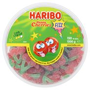 Haribo Happy Cherries F!zz 150 Pièces 1200 g