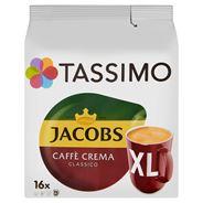 Tassimo Jacobs Caffè Crema Classico XL Kawa mielona 132,8 g (16 kapsułek)
