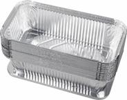 Alufix Foremka aluminiowa z pokrywką 940 ml 20 sztuk
