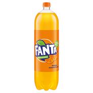 Fanta Pomarańczowa Napój gazowany 2,25 l 8 sztuk