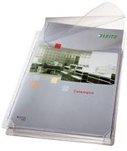 Leitz Koszulki groszkowe na katalogi z klapką 170 mic A4