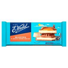 E. Wedel Czekolada mleczna o smaku crème brûlée 289 g