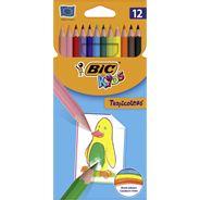 BiC Kids Tropicolors Kredki 12 kolorów